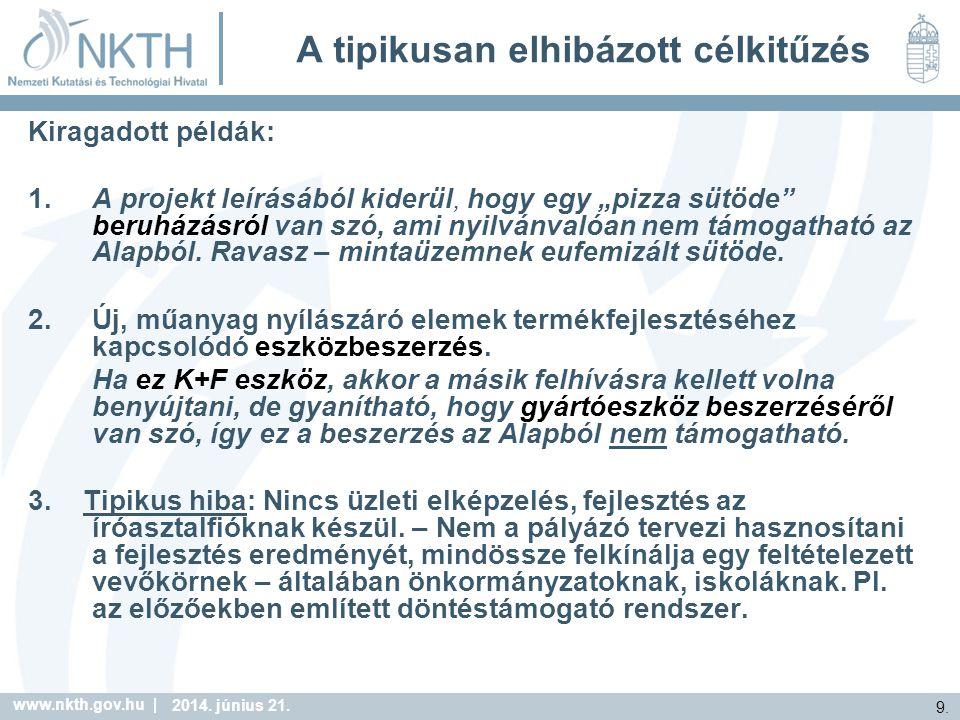 www.nkth.gov.hu | 9. 2014. június 21.