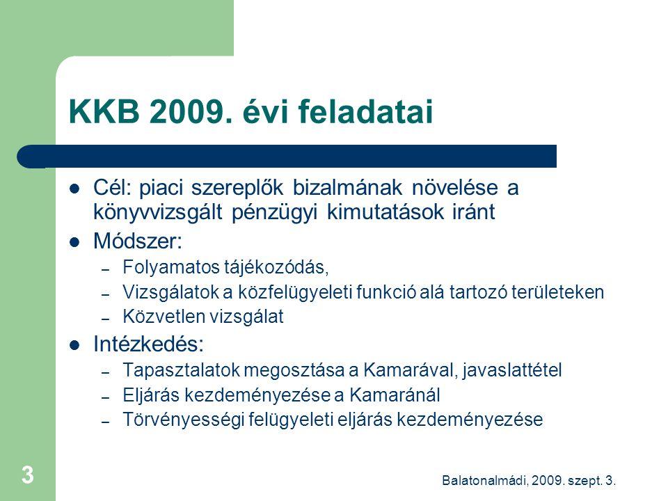 Balatonalmádi, 2009. szept. 3. 3 KKB 2009.