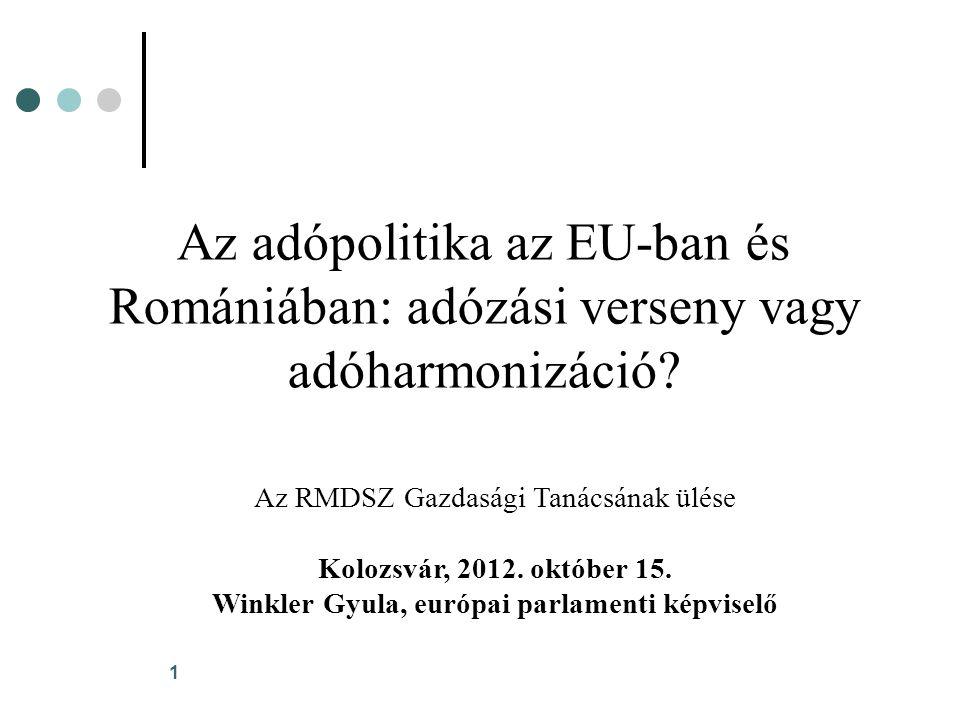 12 Az egykulcsos adó Romániában 3.
