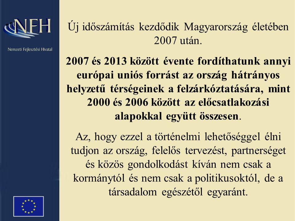 Új időszámítás kezdődik Magyarország életében 2007 után.