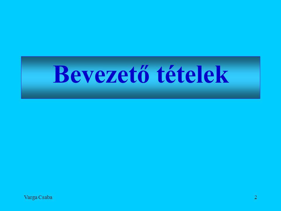 Varga Csaba73 Kultúrafejlesztés - tartalomfejlesztés •Információfejlesztésből - tudásfejlesztés •Kultúrafejlesztésből - tartalomfejlesztés •Három alapvető fejlesztési irány: 1.