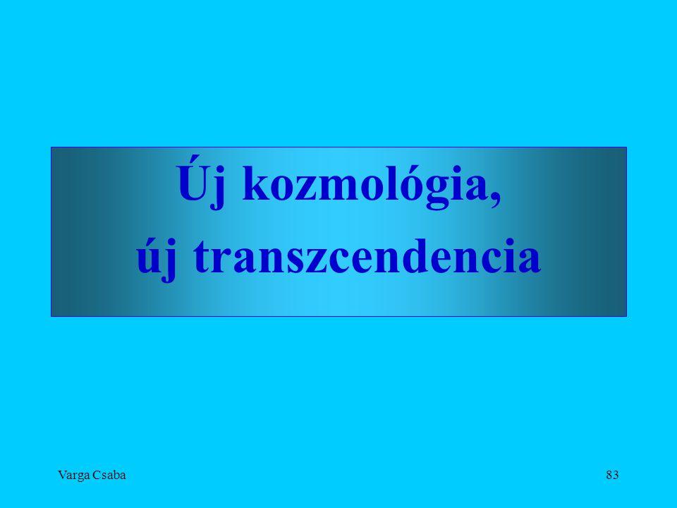 Varga Csaba83 Új kozmológia, új transzcendencia