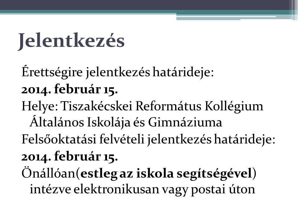 A felvételi kérelemre vonatkozó tudnivalók A felvételi kérelmet : a felsőoktatási intézményekben beszerezhető, kitöltött és postai úton beküldött nyomtatványon, vagy a www.felvi.hu honlapon elektronikusan lehet igénybe venni.www.felvi.hu