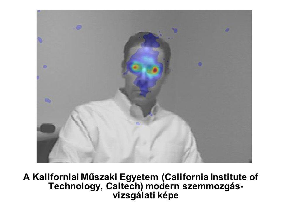 A Kaliforniai Műszaki Egyetem (California Institute of Technology, Caltech) modern szemmozgás- vizsgálati képe