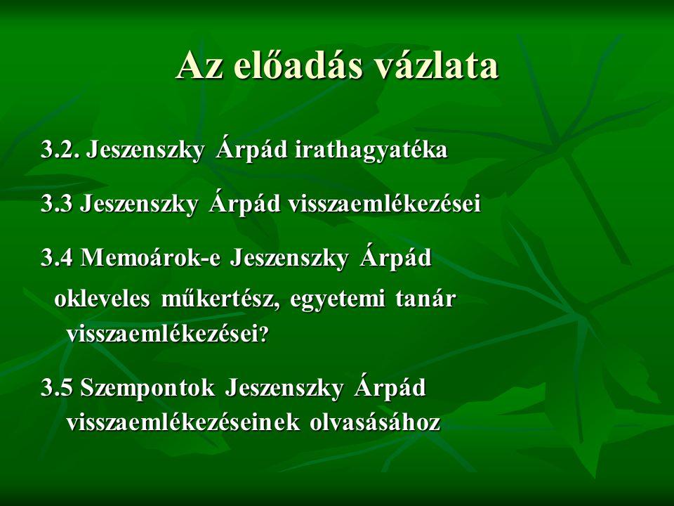 Kortársak, kartársak. A történetkutató kertészek nemzedéke  Mohácsy Mátyás Szabó Béla