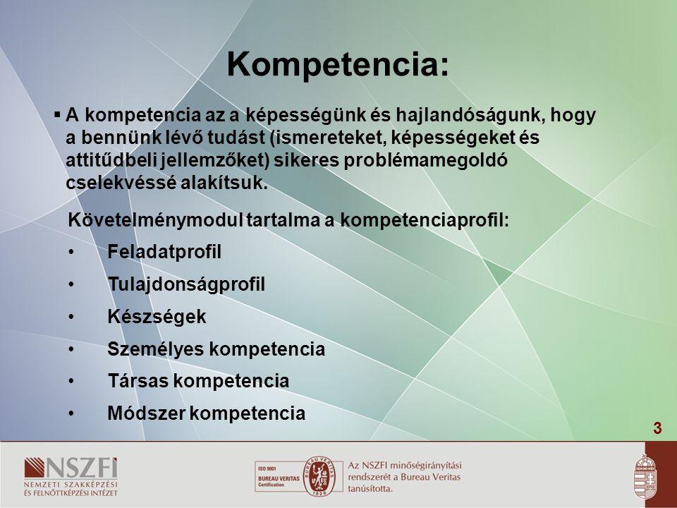 3 Kompetencia:  A kompetencia az a képességünk és hajlandóságunk, hogy a bennünk lévő tudást (ismereteket, képességeket és attitűdbeli jellemzőket) sikeres problémamegoldó cselekvéssé alakítsuk.