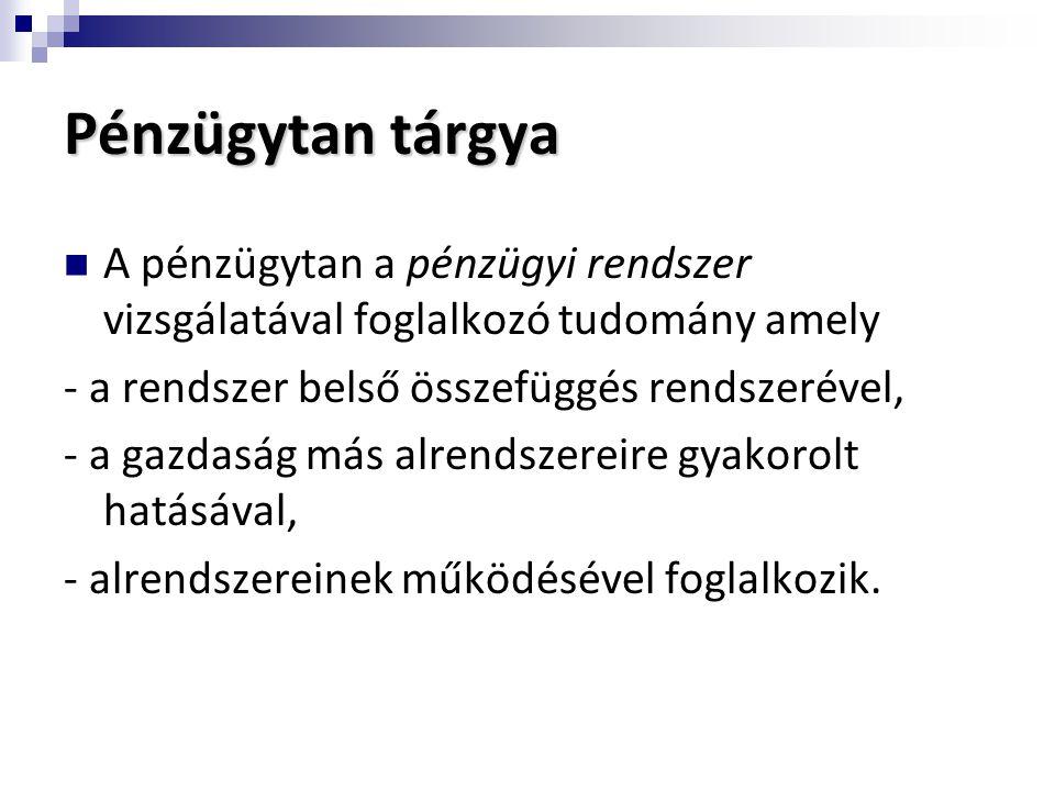 Direkt monetáris politikai eszközök 1.