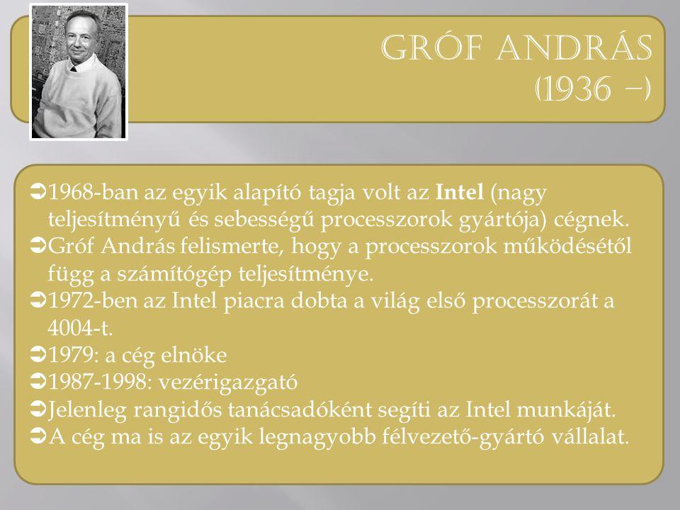 """Simonyi károly (1948 - )  1970: kifejlesztette az első alakhű WYSIWYG szöveg- szerkesztőt, a """" Bravo -t az Alto személyi számítógépre."""