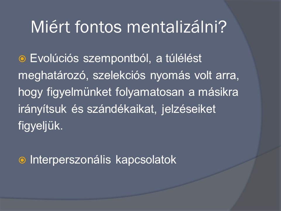 Miért fontos mentalizálni.