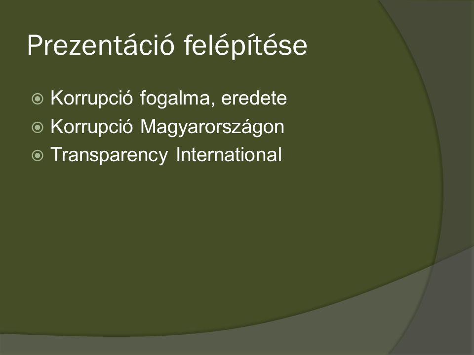 """Korrupció általános fogalma  """"A korrupció szó a latin corruptio, azaz romlás, rontás szóból ered, definíciója szerint pedig olyan törvénybe vagy közerkölcsbe ütköző cselekedet, aminek során valaki pénzért vagy más juttatásért vagy juttatására való kilátásért cserébe jogosulatlan előnyhöz juttat másokat."""