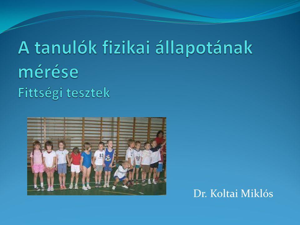 Dr. Koltai Miklós