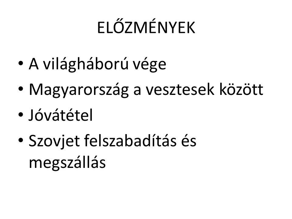 A MAGYAR NEMZETI FÜGGETLENSÉGI FRONT (1944.