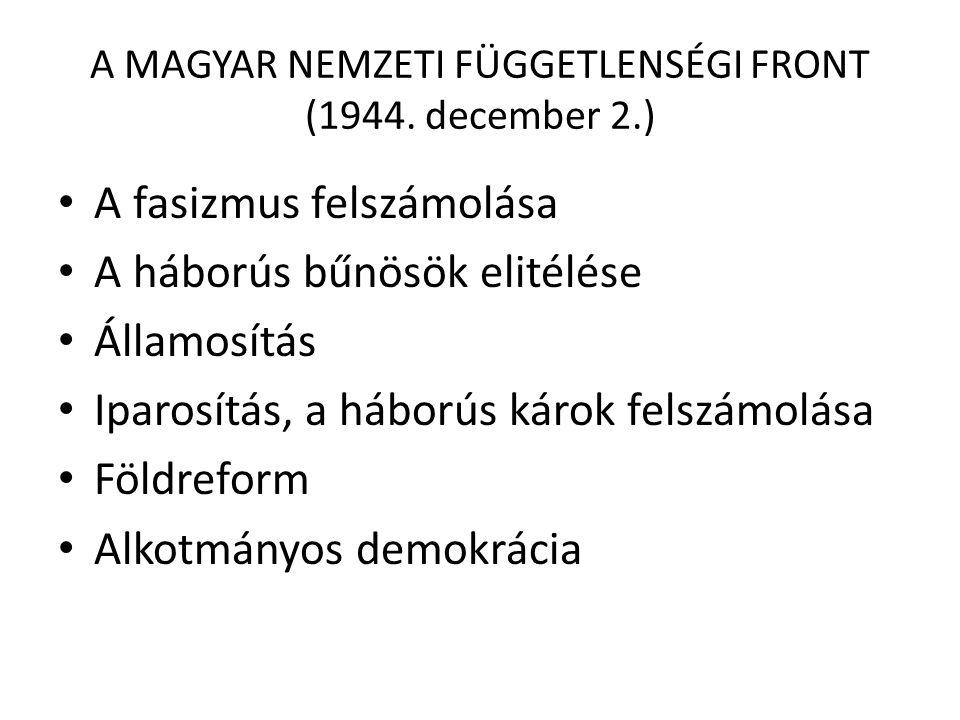 AZ IDEIGLENES NEMZETGYŰLÉS 1944.december 21.
