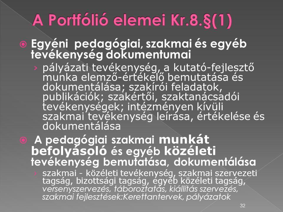  Egyéni pedagógiai, szakmai és egyéb tevékenység dokumentumai › pályázati tevékenység, a kutató-fejlesztő munka elemző-értékelő bemutatása és dokumen