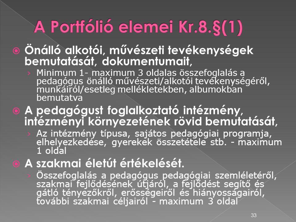  Önálló alkotói, művészeti tevékenységek bemutatását, dokumentumait, › Minimum 1- maximum 3 oldalas összefoglalás a pedagógus önálló művészeti/alkotó
