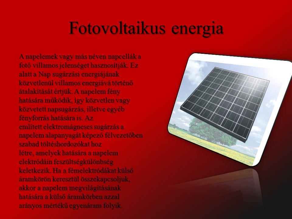 Szélenergia A szélfarm, vagy szélpark szélturbinák csoportja, amelyeknek célja az áramtermelés.