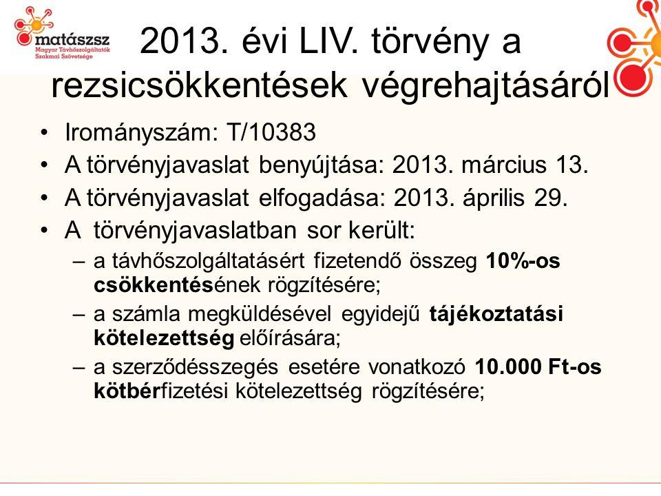 2013.évi LIV.