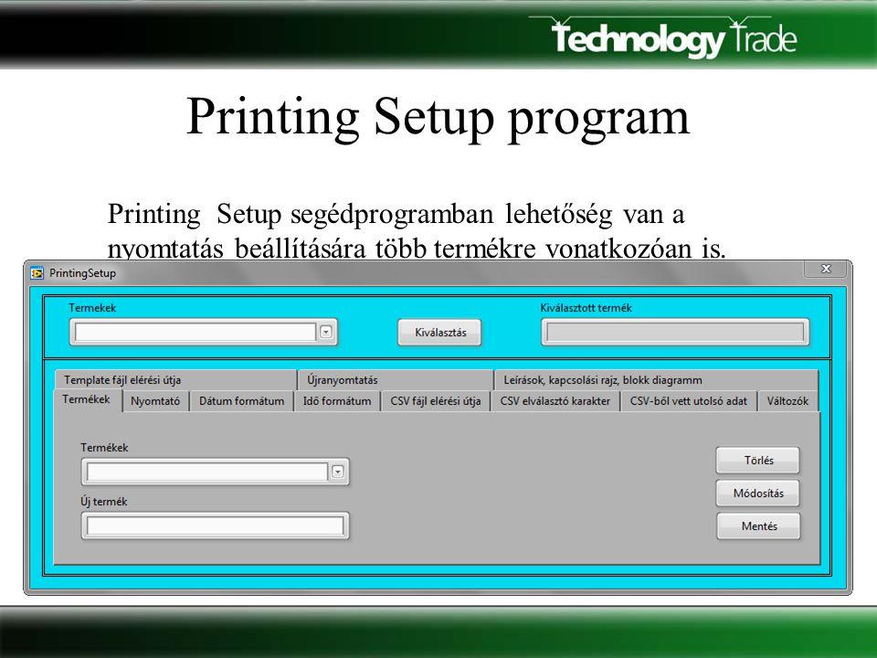 Újranyomtatás A Print Service programban található Újranyomtatás, és a Régebbi újranyomtatása gomb állapota adható meg az adott termékre vonatkozóan.
