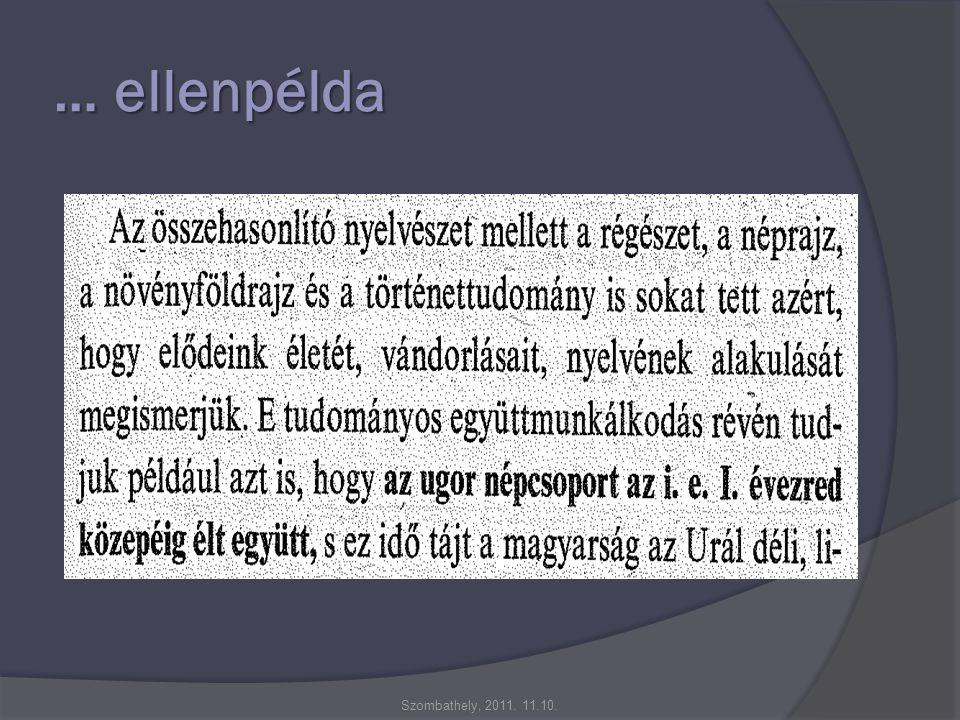 … ellenpélda Szombathely, 2011. 11.10.