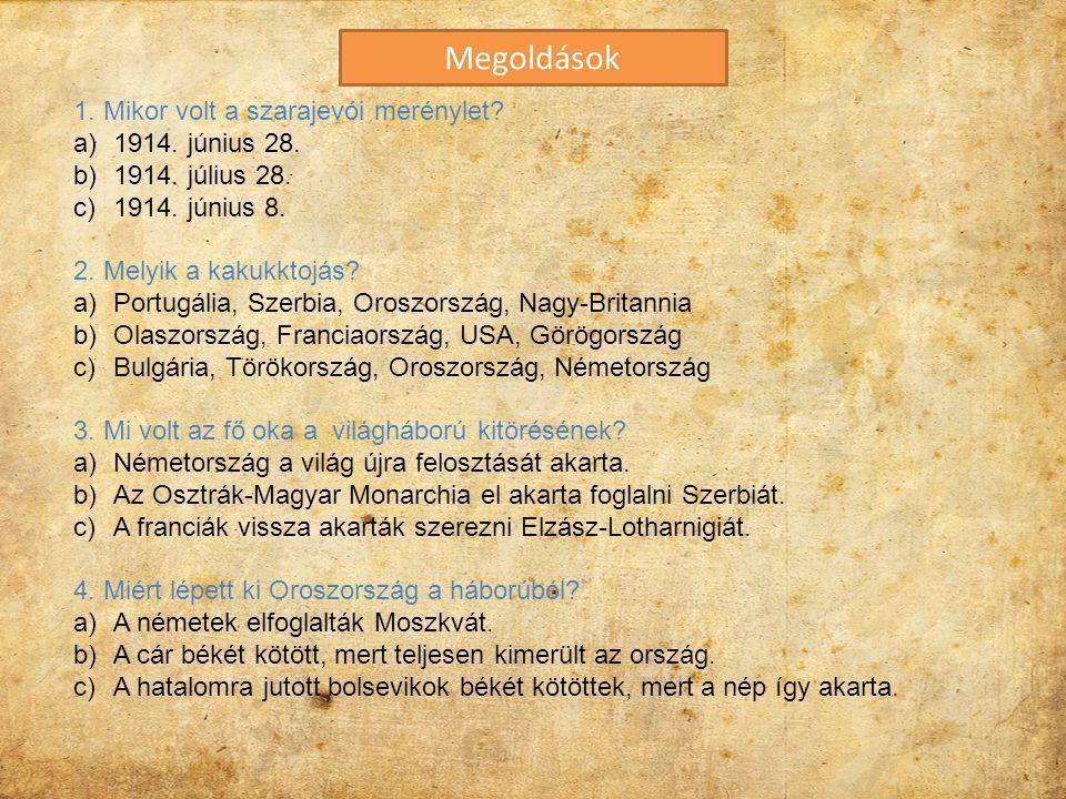 Katonai egyenruhák az I. világháborúban Központi hatalmak Antant magyar németosztrák török bolgár angol olasz franciaorosz amerikai szerb román portug