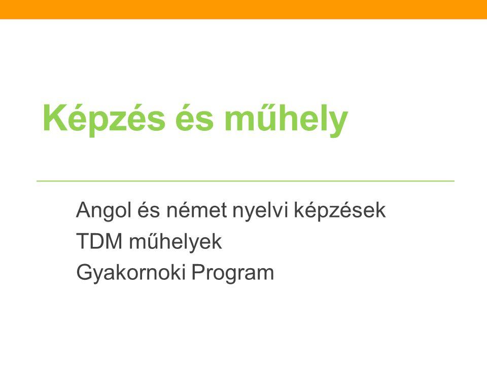 A TDM munkaszervezet további feladatai a kutatás kapcsán: Ki kell deríteni, kik működnek ma. Kapcsolatépítés a turisztikai szolgáltatókkal: • TDM tájé