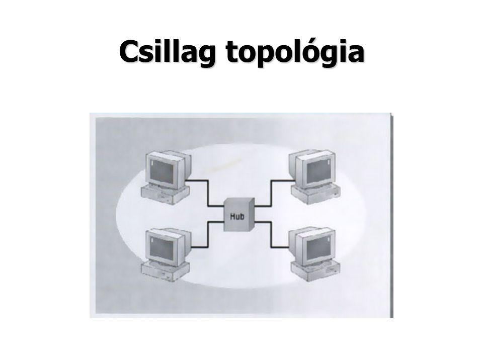 Csillag topológia