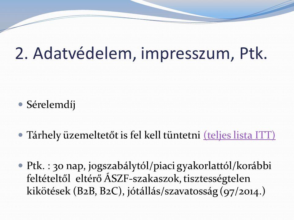 3.Fogyasztóvédelem: 45/2014. Korm.rendelet45/2014.