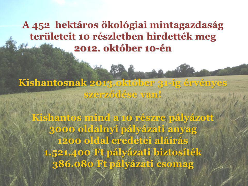 Hantos HU21-10249 40,4535ha, 1160,41AK 2013.03.25.