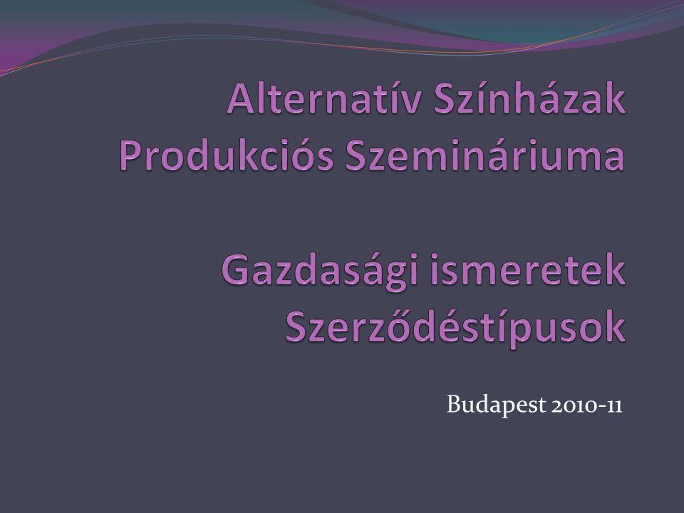 Közös jogkezelés  a) irodalmi, illetve zenei művek,  b) egyéb alkotóművészeti alkotások,  c) filmalkotások,  d) előadóművészi teljesítmények,  e) hangfelvételek,  f) filmelőállítói teljesítmények.