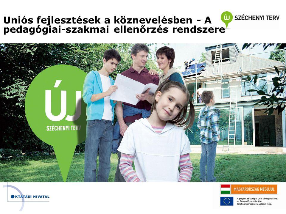 Uniós fejlesztések a köznevelésben - A pedagógiai-szakmai ellenőrzés rendszere