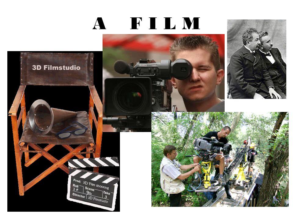 A f i l m A film napjaink egyik legnépszerűbb információs, ismeretterjesztő, szórakoztatási és művészeti célú technikai eszköze, információkat gyűjt, rögzít és közöl.