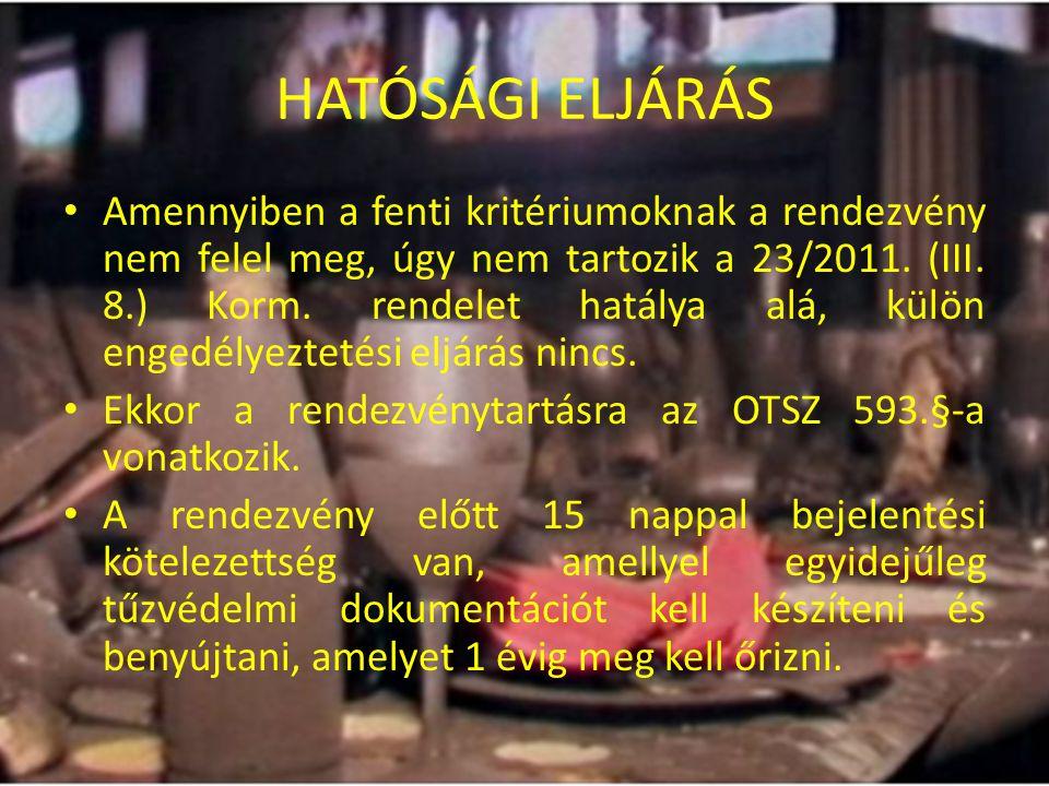 HATÓSÁGI ELJÁRÁS II.