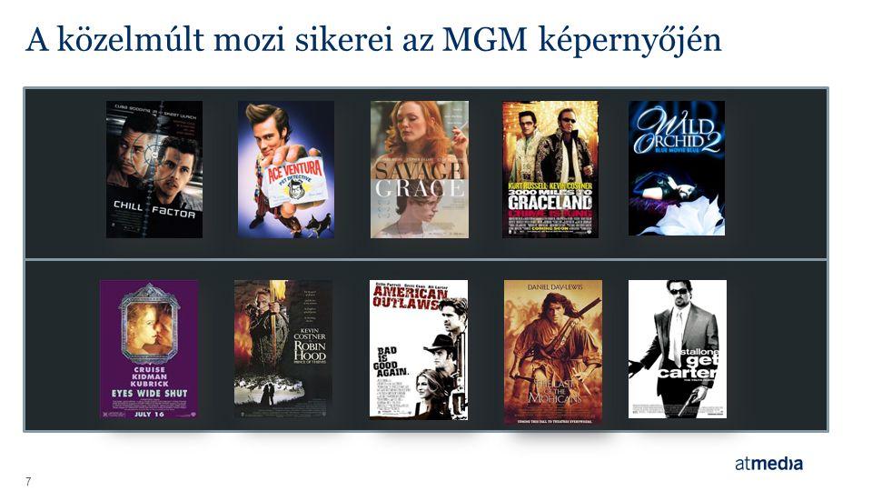 A közelmúlt mozi sikerei az MGM képernyőjén 7