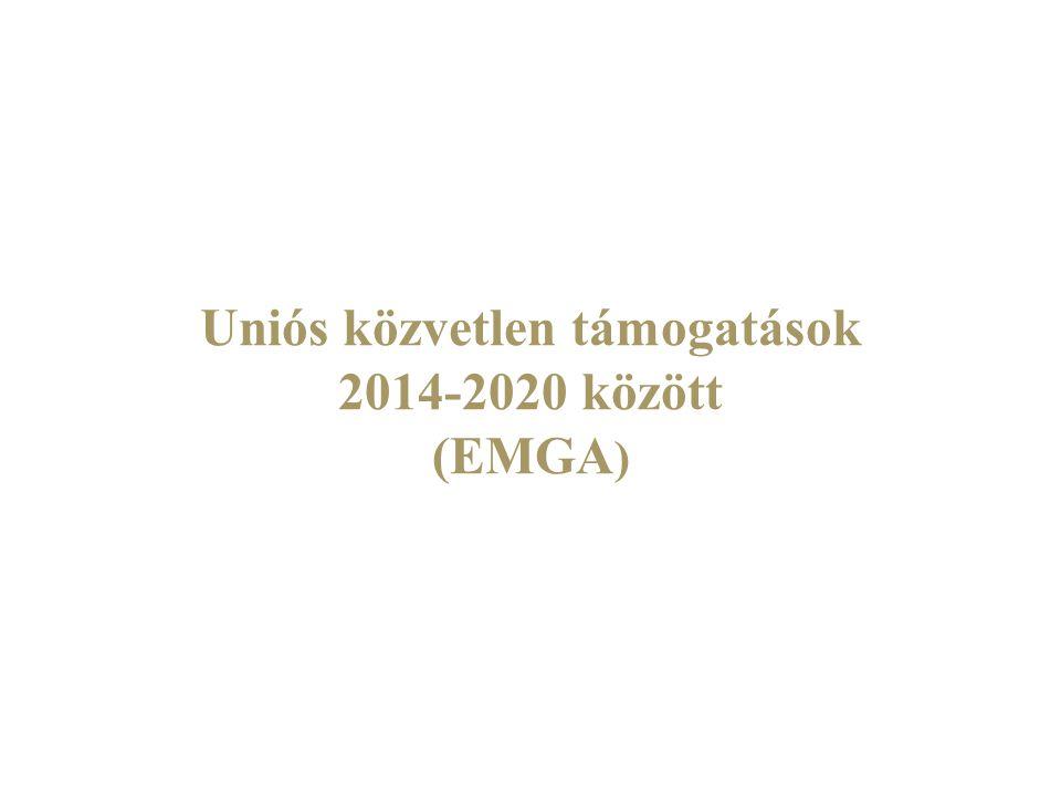 KAP 2014-2020 Nőnek a magyar agrártámogatások 2014 és 2020 között.