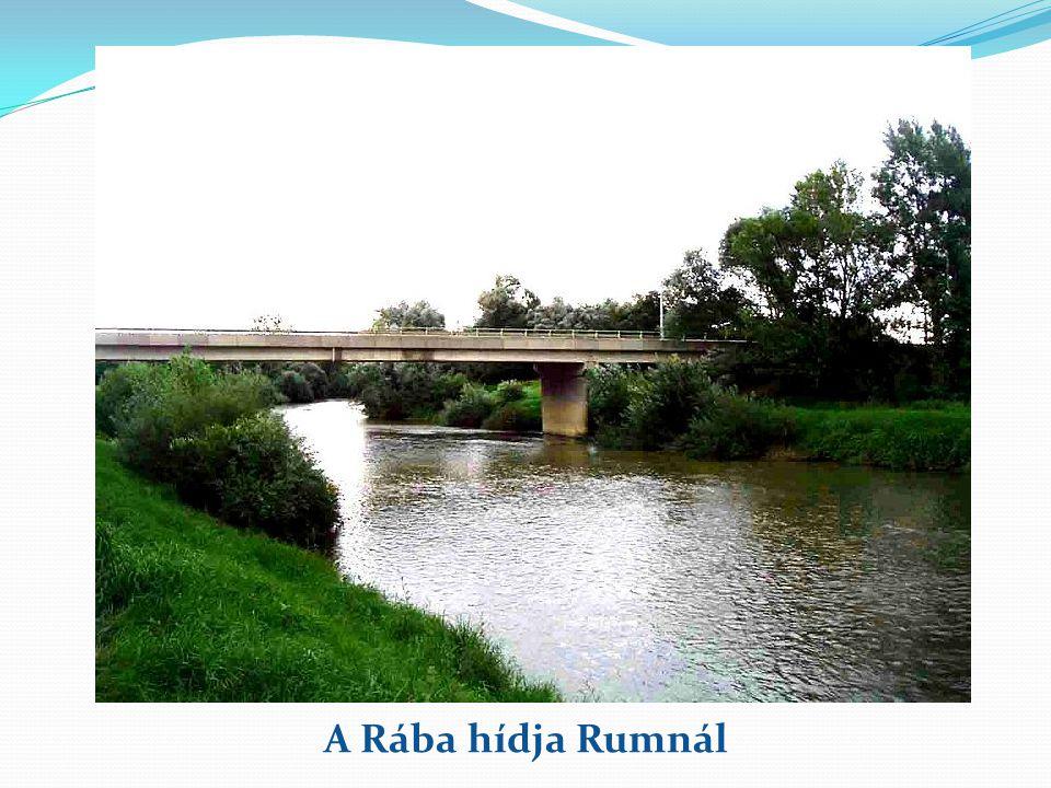 A Rába hídja Rumnál