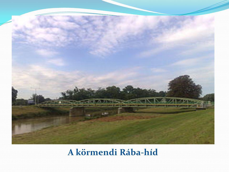 A körmendi Rába-híd