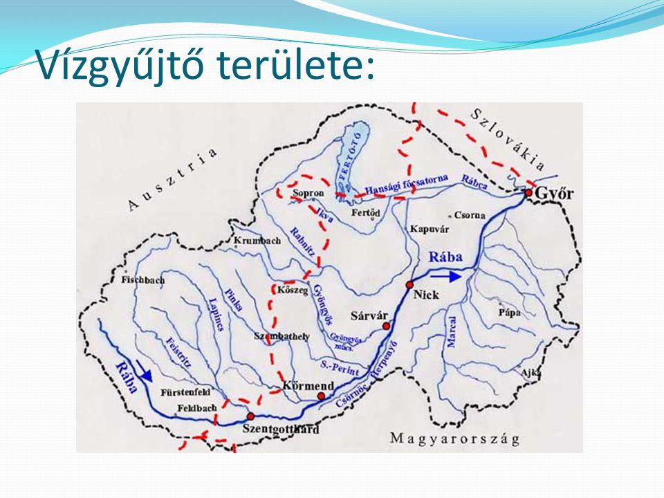 Vízjárása:  Vízjárása ingadozó  Átlagos mélysége: 1-2,5 m Szélessége: 30-50m körül mozog a magyaro.-i szakaszon  Ha az Alpokban sok eső hull, vagy hirtelen olvad el a hó, akkor egy nap alatt akár 5 m-t is emelkedhet a vízszint, a Duna is segítheti a vízszint emelkedését  A víz sebessége 2-11km/h között változik az időjárástól függően