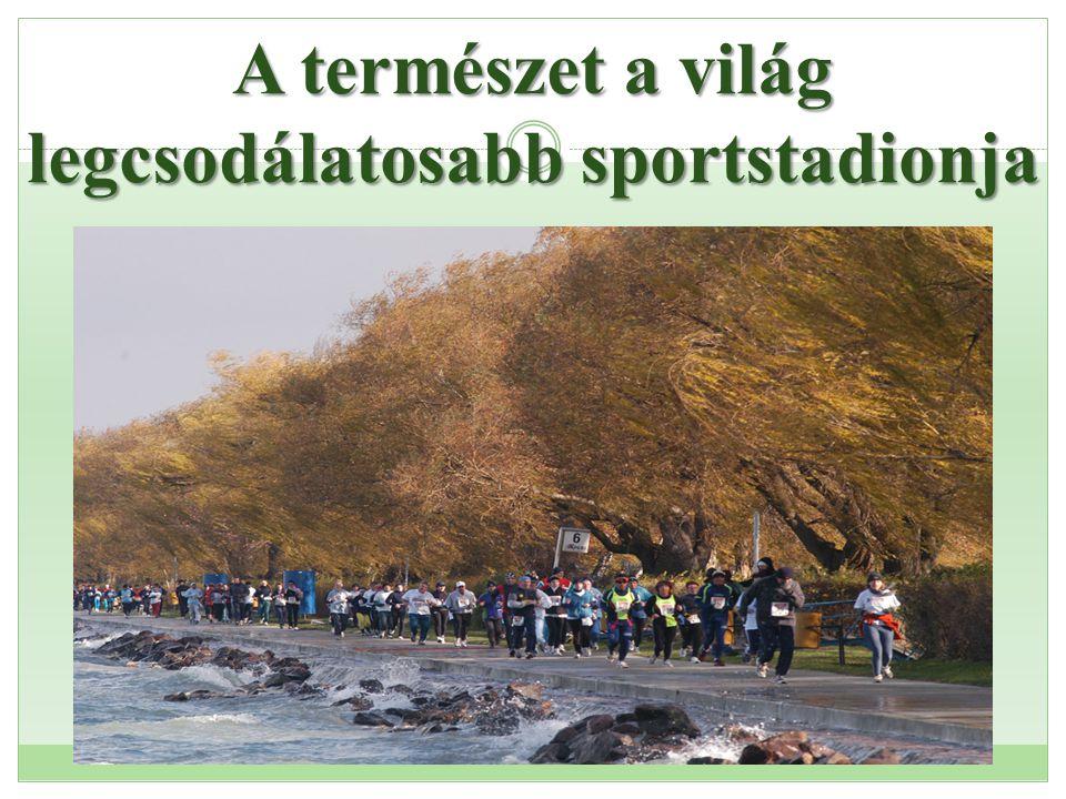 A természet a világ legcsodálatosabb sportstadionja