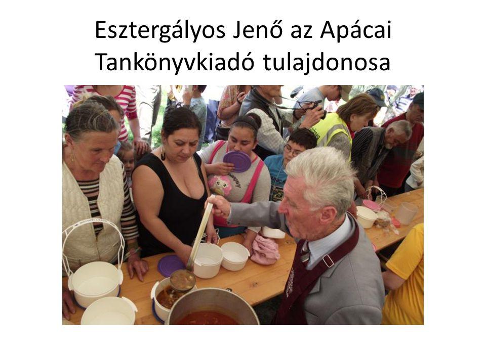Esztergályos Jenő az Apácai Tankönyvkiadó tulajdonosa