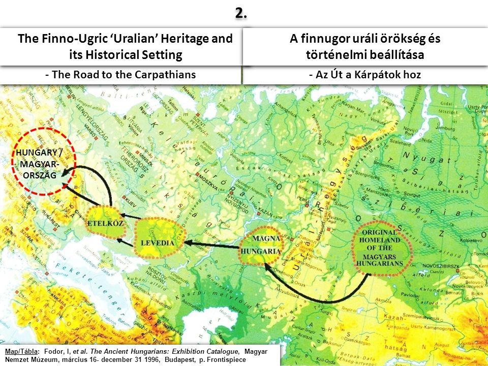 4 HUNGARY / MAGYAR- ORSZÁG MAGYARS Map/Tábla: Fodor, I, et al.