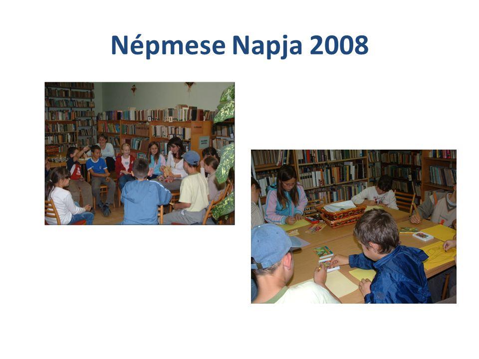 A Népmese Napja 2009 Ismét nagyon jól éreztük magunkat ezen a rendezvényen, sőt többet játszottunk, mint az elmúlt évben.