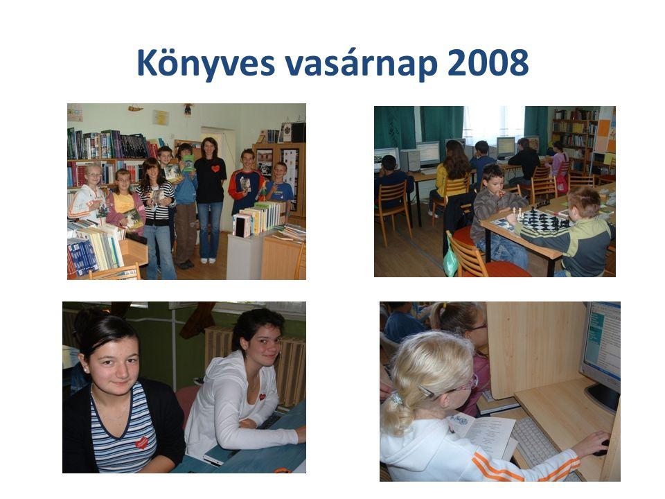 Könyvtári órák Egy-egy tanévben 200 tanítási óra, és délutáni foglalkozás van a könyvtárban.