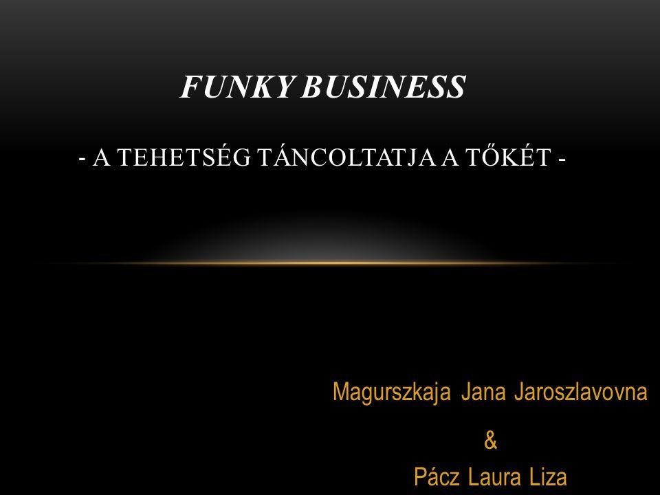 Magurszkaja Jana Jaroszlavovna & Pácz Laura Liza FUNKY BUSINESS - A TEHETSÉG TÁNCOLTATJA A TŐKÉT -