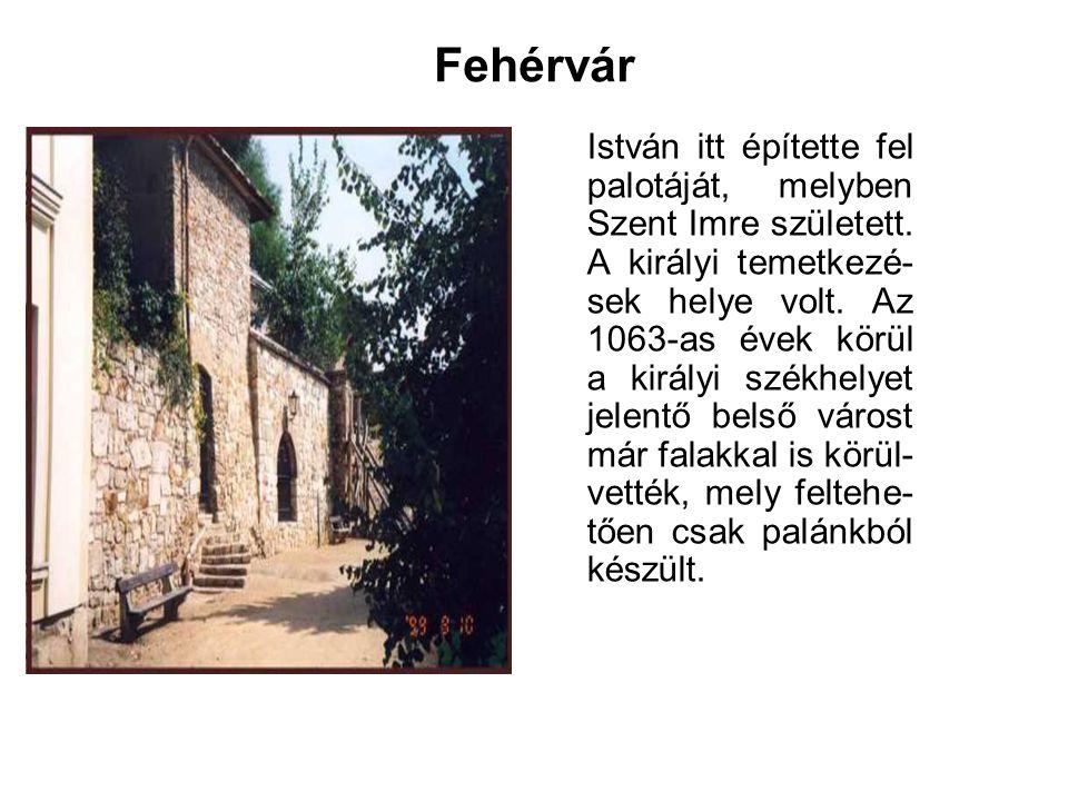 Esztergom A királyi város és vár első ostromára 1241- ben került sor a tatár- járás idején.