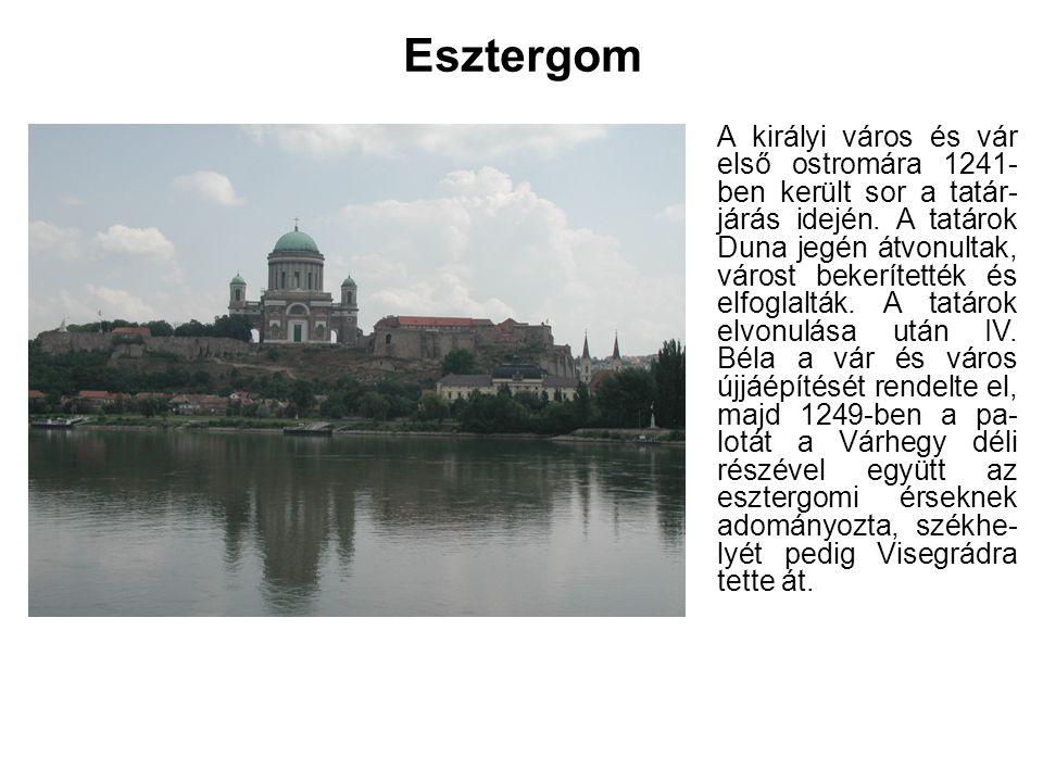Szent István király és felesége Gizella templomot építtettek és állandó tartózkodási helyüknek vá- lasztották a várost.