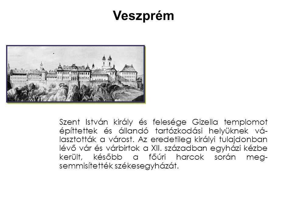 Pannonhalma A Géza korábban megindult kolostorépítkezést I.