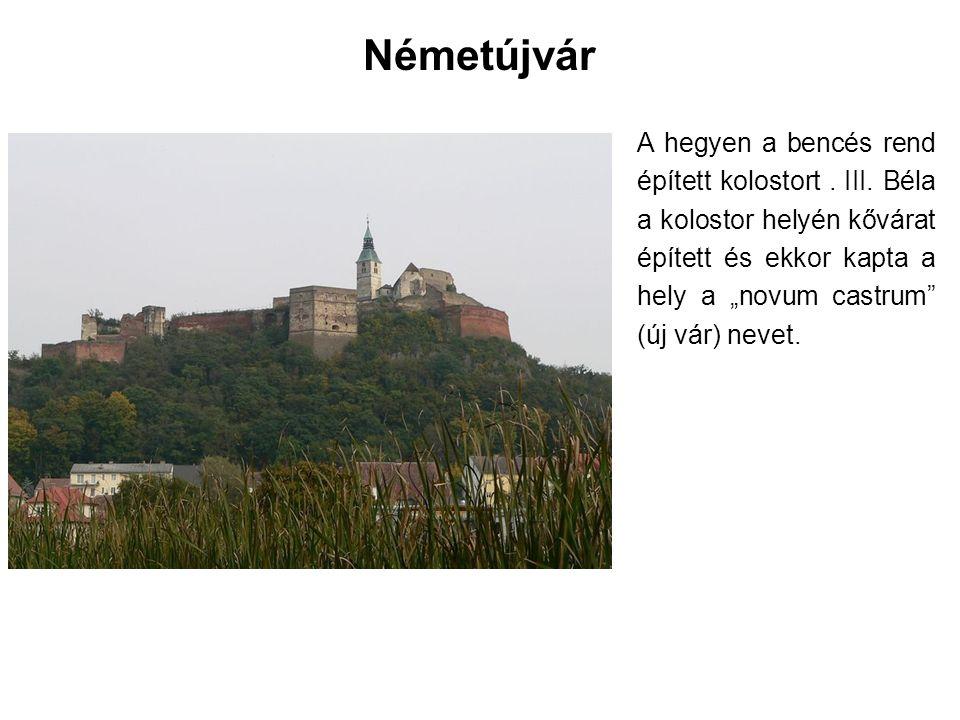 A tatárjárás után, 1248- ban IV.Béla kővár építésére adott utasítást.
