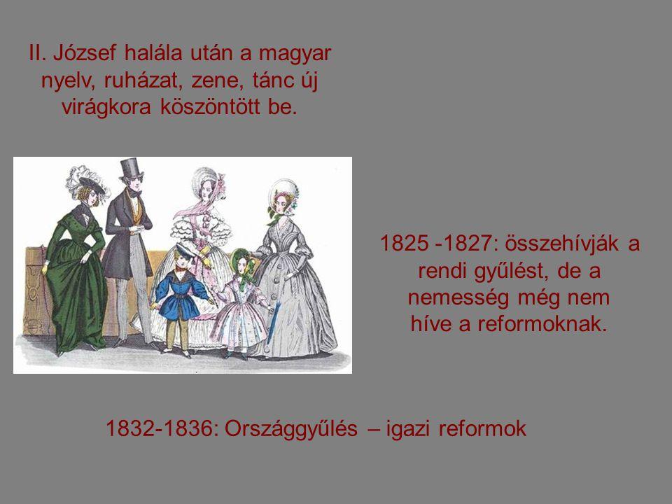 Jelent ő s magyar személyiségek a reformkorban