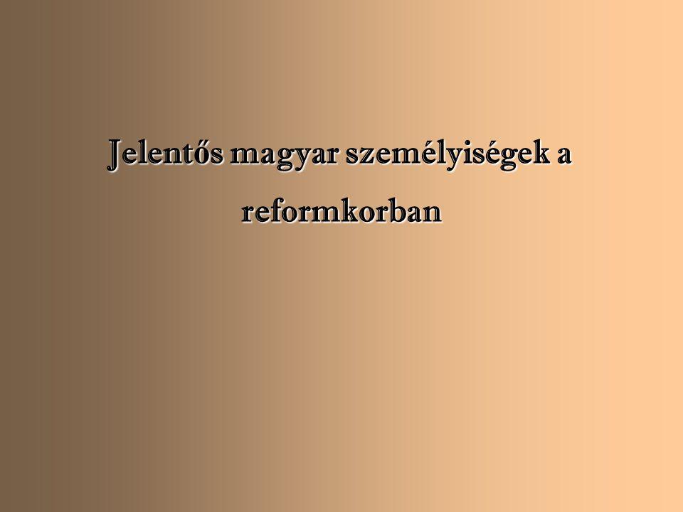 """Széchenyi István (1791-1860) """"Egynek minden nehéz; soknak semmi sem lehetetlen."""