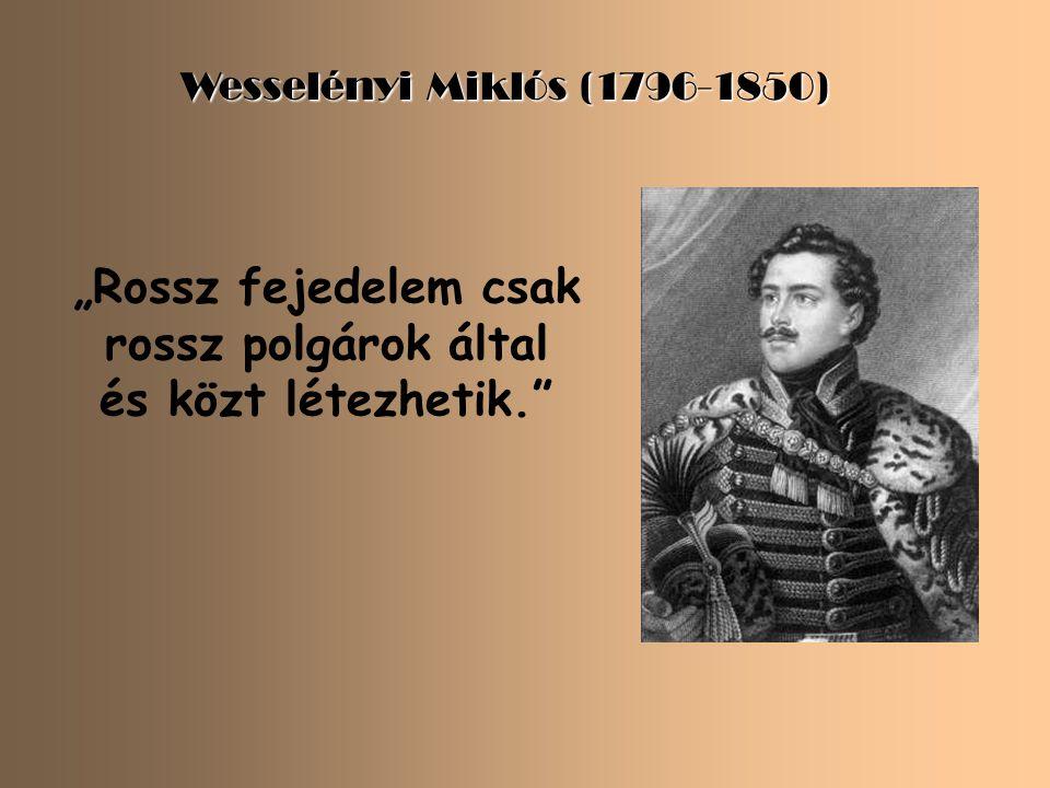 """Batthyány Lajos (1807-1849) """" Erő, minden erő!"""